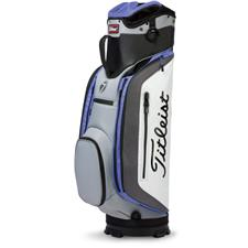 Titleist Club 7 Cart Bag - Soapstone-Charcoal-Periwinkle