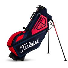 Titleist Players 4-Way Personalized Stand Bag  - Navy-Red