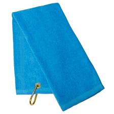 Tri-Fold Towel - Coastal Blue