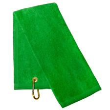 Tri-Fold Towel - Lime Green