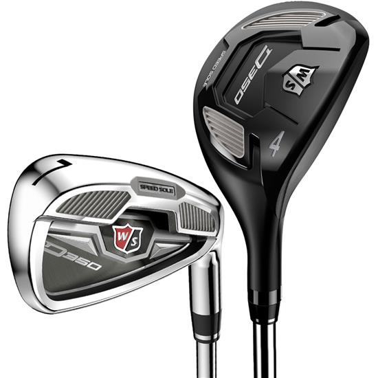 Wilson Staff D350 Combo Iron Set