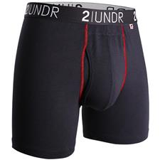 2UNDR Black-Red Swing Shift Boxer Brief