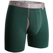 2UNDR Dark Green Swing Shift Boxer Brief