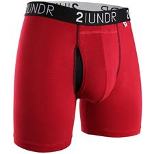 2UNDR Red-Red Swing Shift Boxer Brief