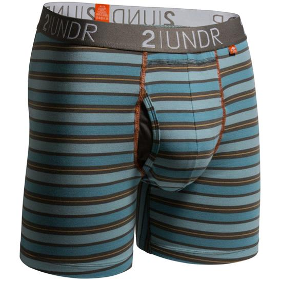 2UNDR Men's Swing Shift Pattern Boxer Brief