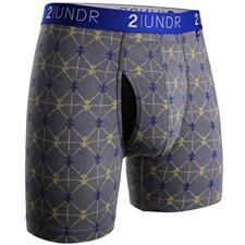 2UNDR Grey Poupon Swing Shift Pattern Boxer Brief