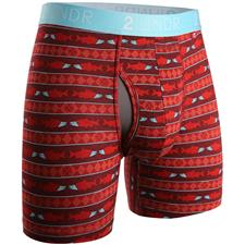 2UNDR Salmon Run Swing Shift Pattern Boxer Brief