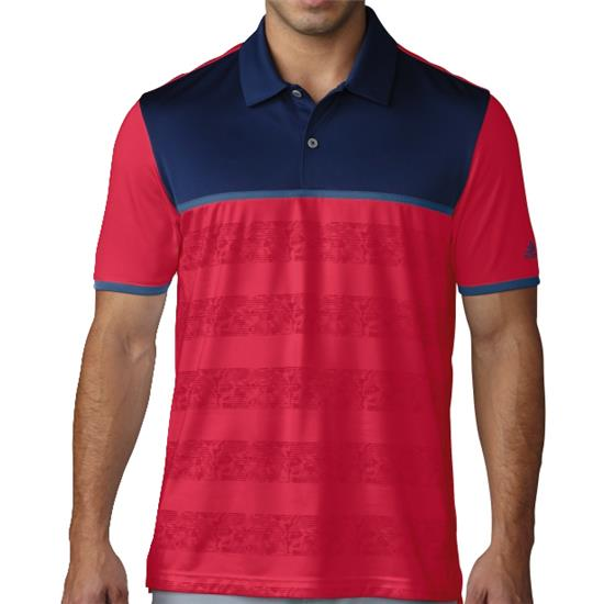 Adidas Men's ClimaCool 2D Camo Stripe Polo