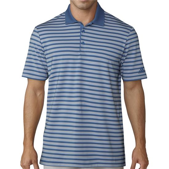 Adidas Men's Ultimate 365 3-Color Stripe Polo