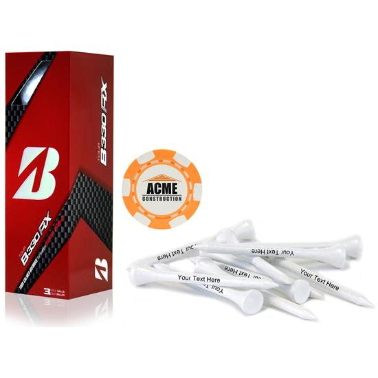 Bridgestone Sleeve, Chip Marker and Tee Kit