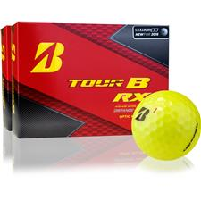 Bridgestone Tour B RX Yellow Personalized Golf Balls - 2 Dozen