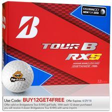Bridgestone Tour B RXS Custom Logo Golf Balls