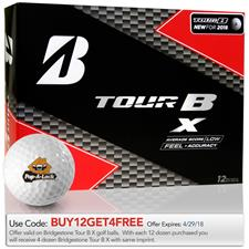 Bridgestone Tour B X Custom Logo Golf Balls