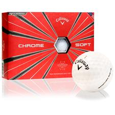 Callaway Golf Chrome Soft Officially Licensed Logo Golf Balls