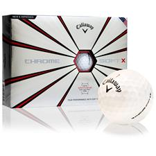 Callaway Golf Custom Logo Chrome Soft X Golf Balls