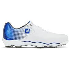 FootJoy White-Blue D.N.A. Helix Previous Season Golf Shoes