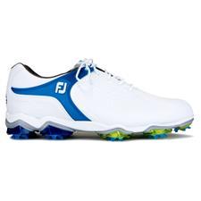 FootJoy White-Blue Tour-S Previous Season Golf Shoes