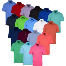 Greg Norman Men's ML75 Micro Lux Solid Polo