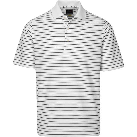 Greg Norman Men's ProTek Micro Pique Stripe Polo
