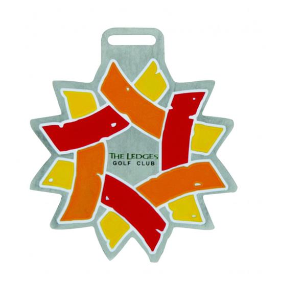 Logo Golf Cast Zinc Bag Tags