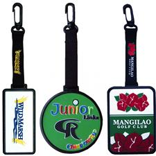 Logo Golf Custom Logo DuraFlex Bag Tag