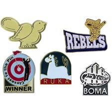 Logo Golf Custom Logo Lapel Pins