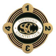 Logo Golf Custom Logo SpinMARK Ball Marker