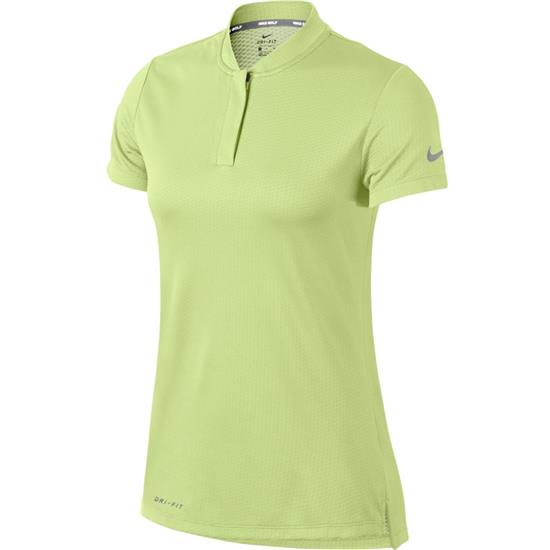 Nike Dry Short Sleeve Blade Collar Polo for Women