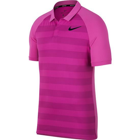 Nike Men's Stripe Zonal Cooling Polo