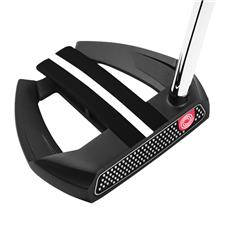 Odyssey Golf Left O-Works Black Marxman Putter with SS Grip