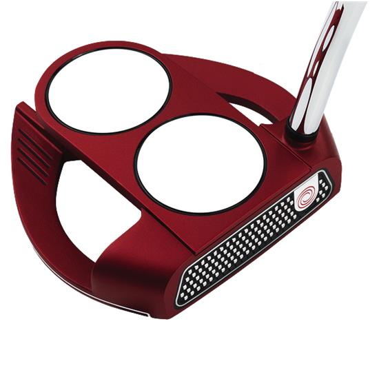 Odyssey Golf O-Works Red 2-Ball Fang Putter