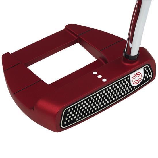 Odyssey Golf O-Works Red Jailbird Mini Putter w/ SS Grip