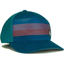 PING Men's Fitted Sport Mesh Hat - Turquoise - Large/X-Large