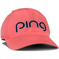 PING Performance Personalized Hat for Women - Peony-Navy