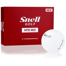 Snell MTB Red Golf Balls