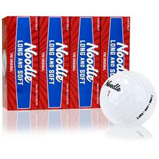 Taylor Made Noodle Long and Soft Custom Express Logo Golf Balls