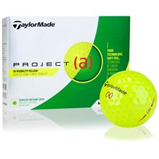 Taylor Made Project (a) Yellow Custom Logo Golf Balls