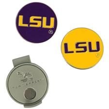 Team Effort Collegiate Hat Clip and Ball Markers - LSU Tigers