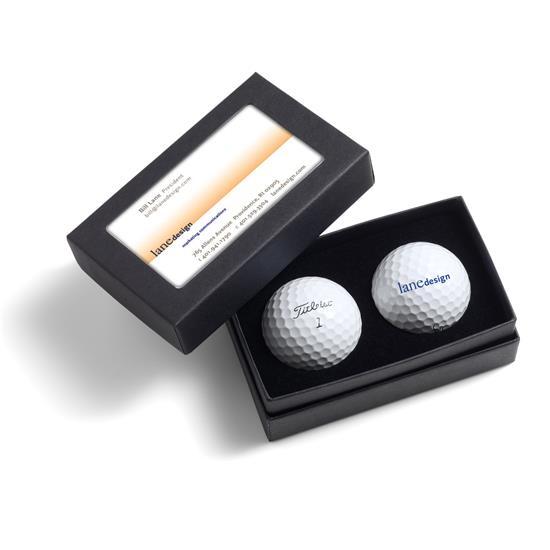 Titleist 2-Ball Business Card Box