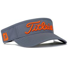Titleist Men's Junior Performance Visor - Charcoal-Orange