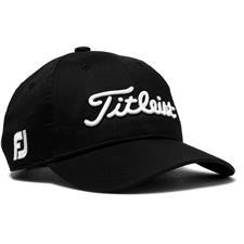 Titleist Men's Junior Tour Performance Hat - Black-White