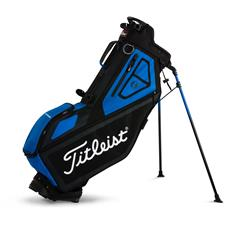 Titleist Players 4-Way Personalized Stand Bag  - Black-Blue