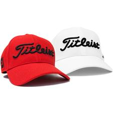 Titleist Men s Heather Jersey Fitted Hat - Red - Small Medium ... 7cdbf0bc501