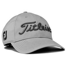 Titleist Men's Tour Performance Grey Collection Hat - Grey-Charcoal