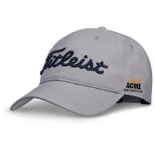 Titleist Custom Logo Tour Performance Grey Collection Hat