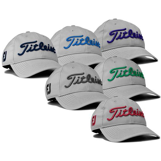 Titleist Men's Tour Performance Grey Collection Hat