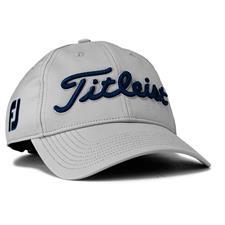 Titleist Men's Tour Performance Grey Collection Hat - Grey-Navy