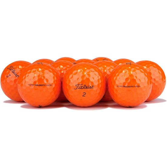 Titleist Velocity Orange Golf Balls