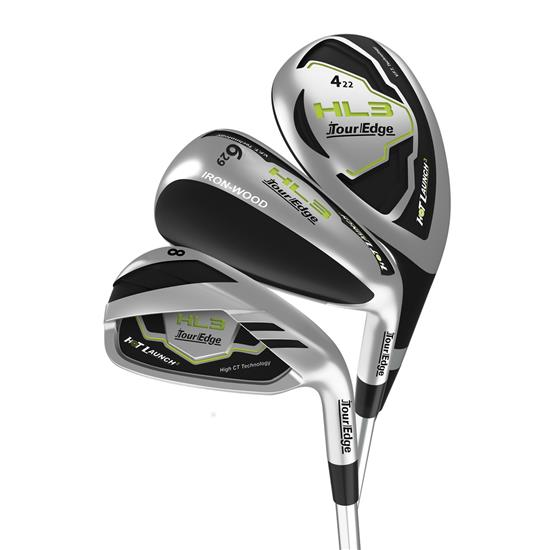 Tour Edge Hot Launch 3 Graphite Triple Combo Iron Set