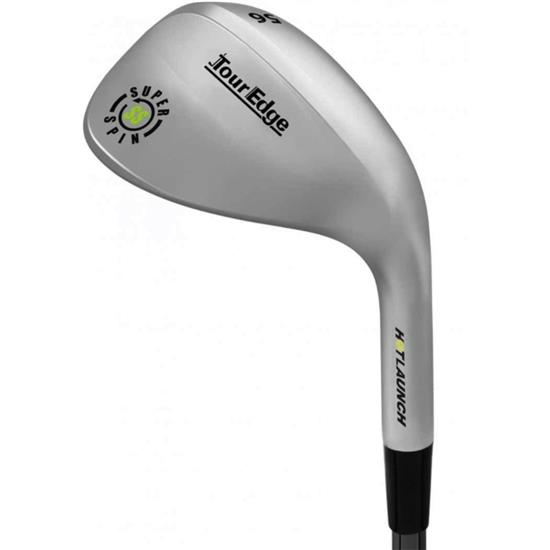 Tour Edge Hot Launch Super Spin Steel Wedge
